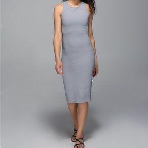 Lululemon Picnic Play Dress Gingham Bodycon Sheath